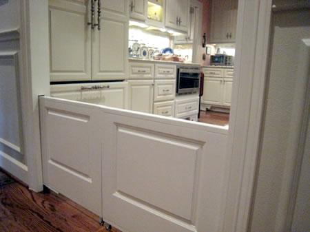 pet_pocket_doors & Corralling Toddlers and Pets? | Flint Custom Homes